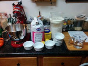 Mise en Place, not too complicated.